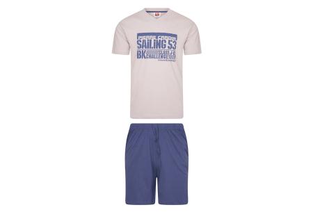 Pierre Cardin loungewear | Comfortabele tweedelige set - in 3 kleuren  Grijs