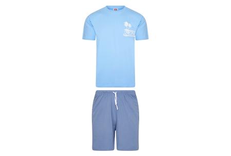 Pierre Cardin loungewear | Comfortabele tweedelige set - in 3 kleuren  Lichtblauw