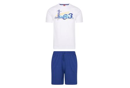 Pierre Cardin loungewear | Comfortabele tweedelige set - in 3 kleuren  Wit