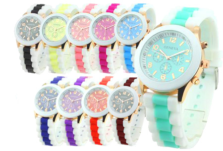 Hard Candy Color horloge t.w.v. €39,95 nu GRATIS