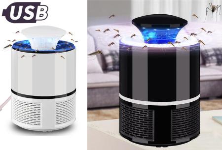 Muggenvanger lamp | Vangt effectief en eenvoudig vliegende insecten