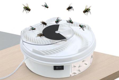 Elektrische vliegenval   Vang vervelende insecten op een milieuvriendelijke manier