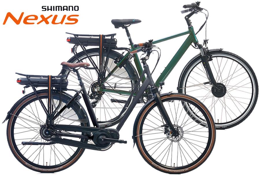 Shimano Nexus 7 elektrische fiets - aanbieding!