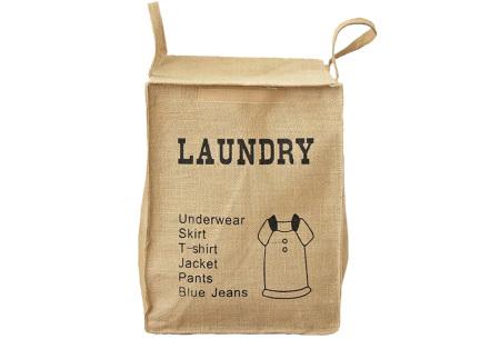 Recycle- en waszakken | Opbergzakken van een stevige katoenmix Laundry