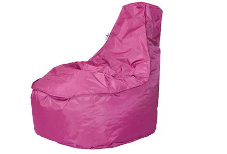 NOA zitzak stoel van Your Basics   Keuze uit 2 formaten en 24 kleuren Fuchsia