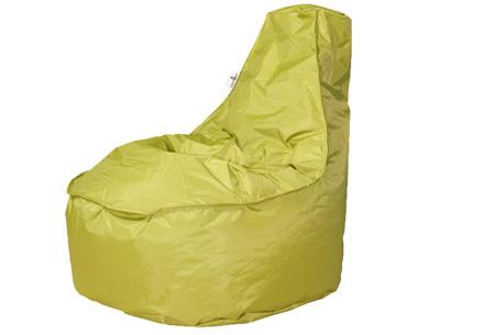 NOA zitzak stoel van Your Basics   Keuze uit 2 formaten en 24 kleuren Lime groen