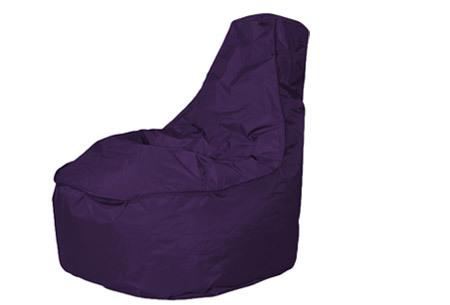 NOA zitzak stoel van Your Basics   Keuze uit 2 formaten en 24 kleuren Paars