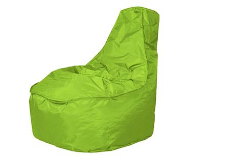 NOA zitzak stoel van Your Basics   Keuze uit 2 formaten en 24 kleuren Apple green