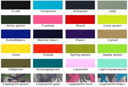 NOA zitzak stoel van Your Basics   Keuze uit 2 formaten en 24 kleuren