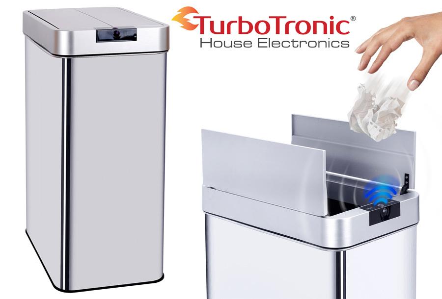 TurboTronic prullenbak met sensor nu met korting