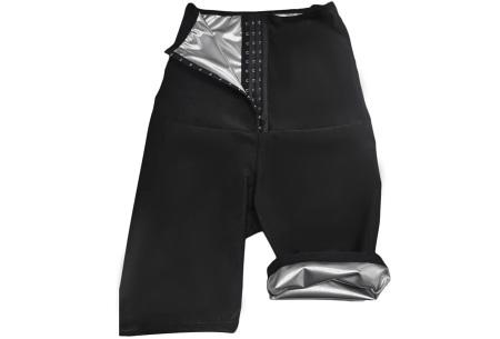 Saunafit sportbroek voor dames | Snel & gemakkelijk buikvet verbranden!