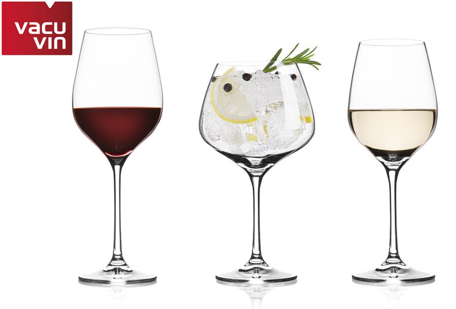 Luxe wijnglazen of gin-tonic glazen met korting