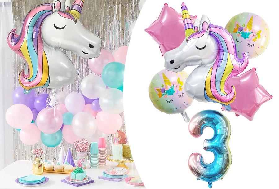 Unicorn folieballonnen in de aanbieding