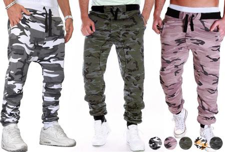 Camouflage joggingbroek voor heren   Trainingsbroek met legerprint - in 6 kleuren