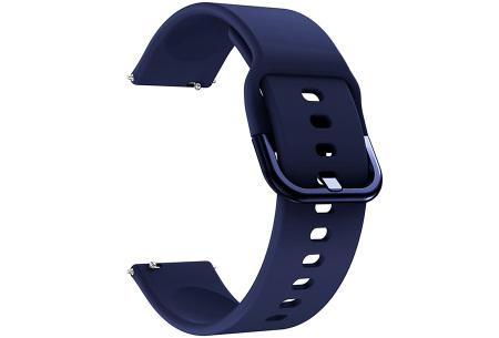 Siliconen smartwatchbandjes   Gekleurde horlogebandjes in 2 maten
