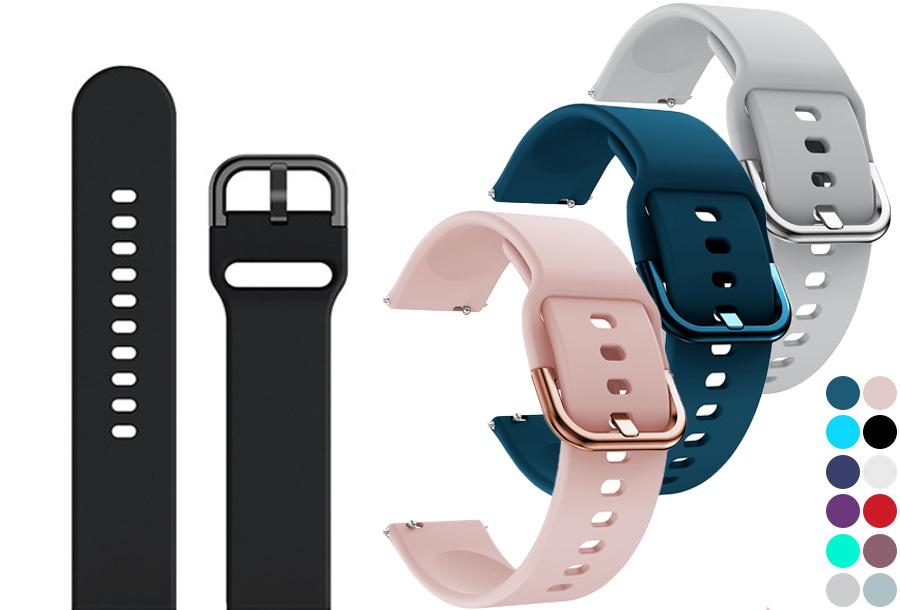 Siliconen horlogebandjes in de aanbieding