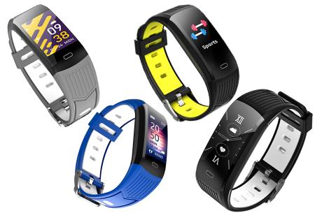 Activity tracker voor dames & heren   Veelzijdige smartwatch met minimalistisch design