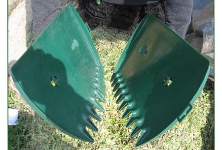 Tuinafvalzak en/of bladgrijpers   Tuingereedschap om gemakkelijk en snel bladeren op te ruimen!
