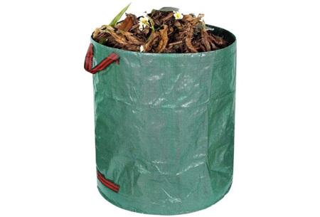 Tuinafvalzak en/of bladgrijpers   Tuingereedschap om gemakkelijk en snel bladeren op te ruimen! Tuinafvalzak