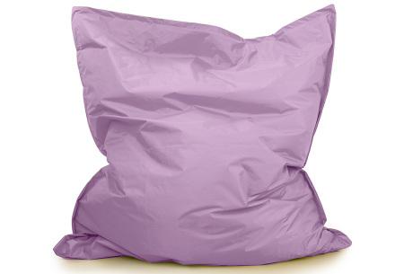 Your Basics zitzak voor binnen en buiten   Keuze uit 21 kleuren & 3 formaten voor volwassenen en kinderen Lavendel - 130 x 150 cm