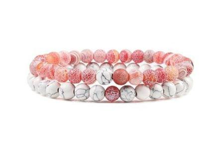 Edelsteen armbanden   Kralen armbandjes met positieve werking op je innerlijke rust A