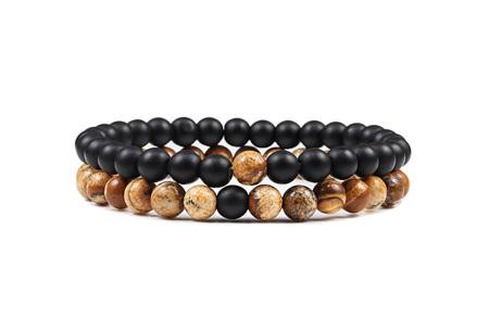 Edelsteen armbanden   Kralen armbandjes met positieve werking op je innerlijke rust E