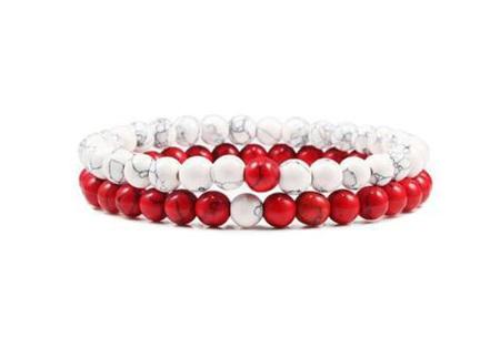 Edelsteen armbanden   Kralen armbandjes met positieve werking op je innerlijke rust F