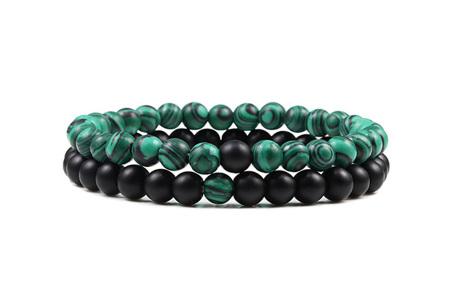 Edelsteen armbanden   Kralen armbandjes met positieve werking op je innerlijke rust H