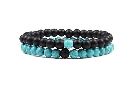 Edelsteen armbanden   Kralen armbandjes met positieve werking op je innerlijke rust K