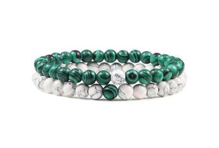 Edelsteen armbanden   Kralen armbandjes met positieve werking op je innerlijke rust L