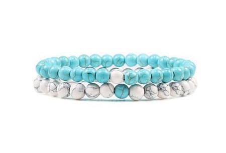 Edelsteen armbanden   Kralen armbandjes met positieve werking op je innerlijke rust M