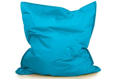 Your Basics zitzak voor binnen en buiten   Keuze uit 21 kleuren & 3 formaten voor volwassenen en kinderen Turquoise - 130 x 150 cm