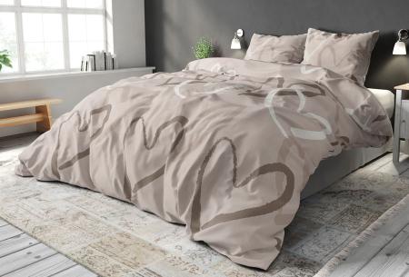 Elegance dekbedovertrekken van Sleeptime   Warme en zachte dekbedhoes met print  Fly heart
