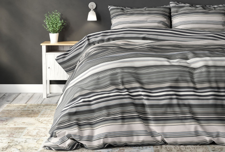 Elegance dekbedovertrekken van Sleeptime   Warme en zachte dekbedhoes met print  James