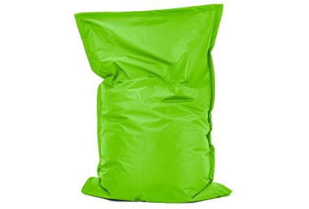 Your Basics zitzak voor binnen en buiten   Keuze uit 21 kleuren & 3 formaten voor volwassenen en kinderen Apple green - 100/115 x 150