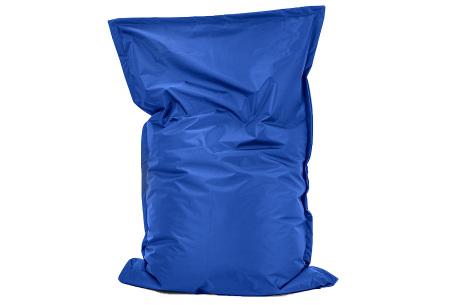 Your Basics zitzak voor binnen en buiten   Keuze uit 21 kleuren & 3 formaten voor volwassenen en kinderen Kobaltblauw - 100/115 x 150