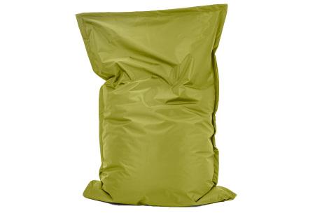 Your Basics zitzak voor binnen en buiten   Keuze uit 21 kleuren & 3 formaten voor volwassenen en kinderen Spring green - 100/115 x 150