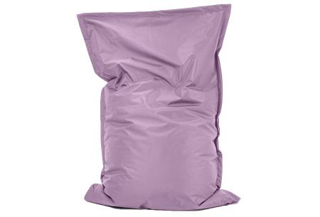 Your Basics zitzak voor binnen en buiten   Keuze uit 21 kleuren & 3 formaten voor volwassenen en kinderen Lavendel - 100/115 x 150
