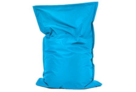 Your Basics zitzak voor binnen en buiten   Keuze uit 21 kleuren & 3 formaten voor volwassenen en kinderen Turquoise - 100/115 x 150