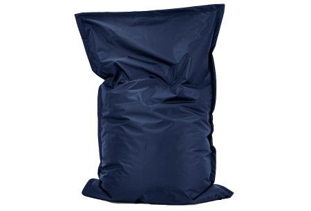 Your Basics zitzak voor binnen en buiten   Keuze uit 21 kleuren & 3 formaten voor volwassenen en kinderen Marine blauw - 100/115 x 150