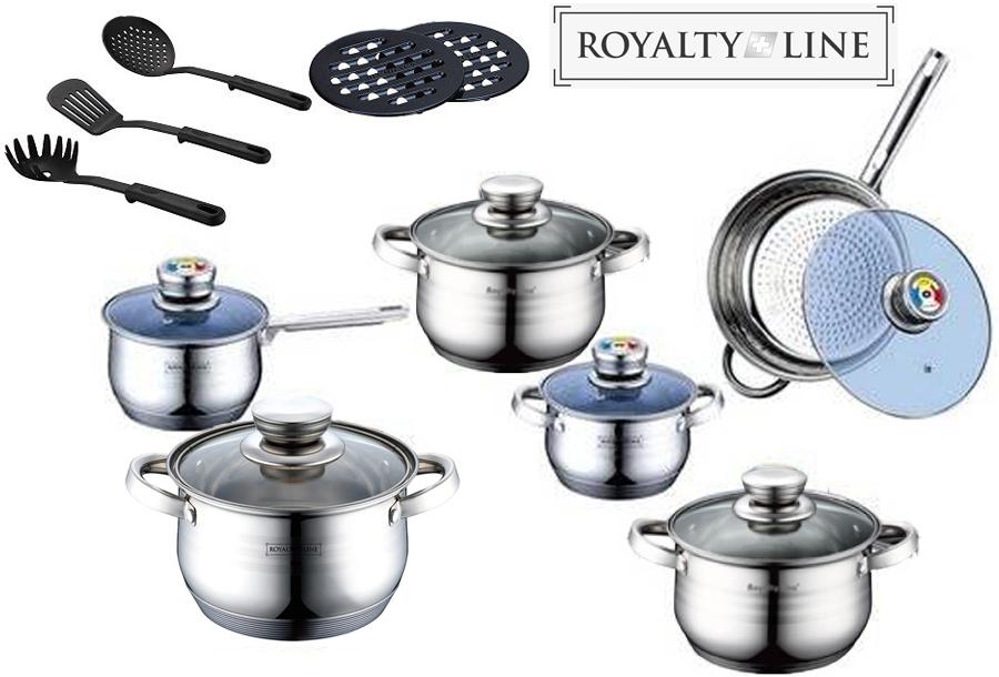Royalty Line kookpan, steelpan of hapjespan