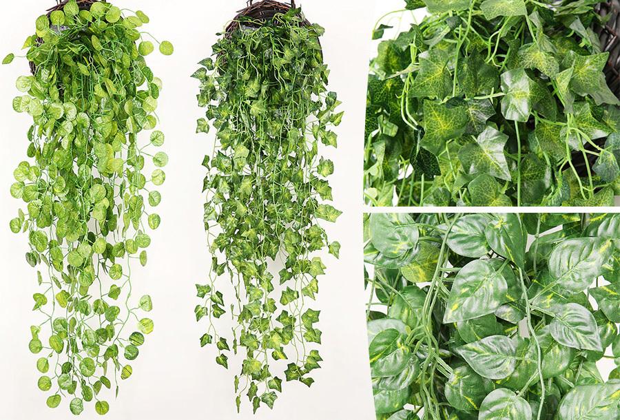Kunst kamerplanten | Nep hangplanten in 5 soorten