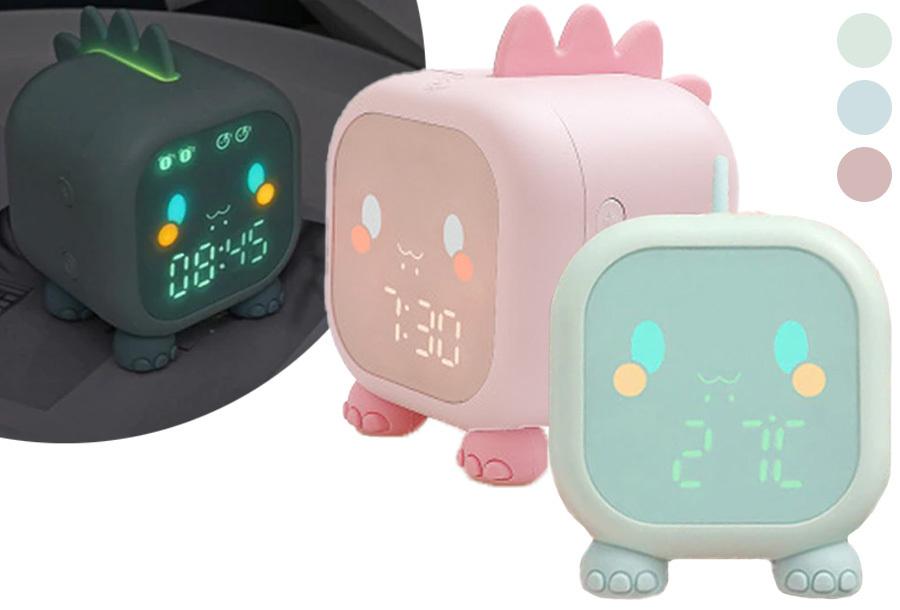 Kinderwekker met wake-up light in de aanbieding
