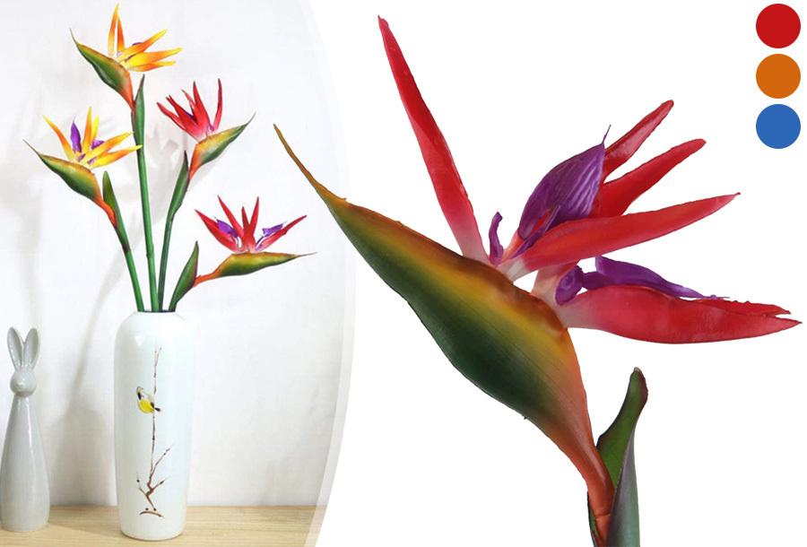 Kunst paradijsvogelbloemen nu heel goedkoop