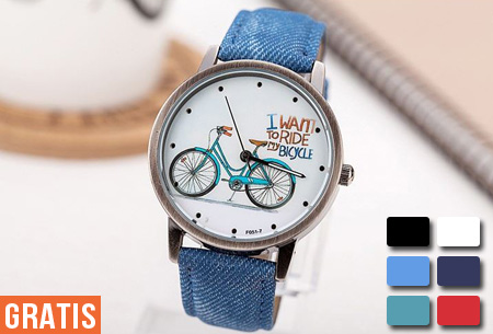 Bicycle horloge nu GRATIS!