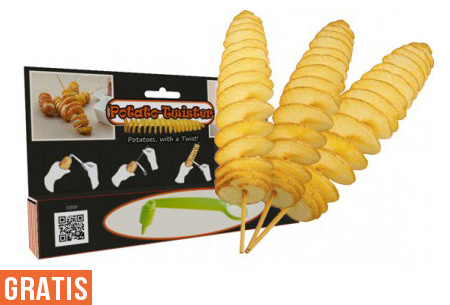 Potato Twister nu GRATIS!