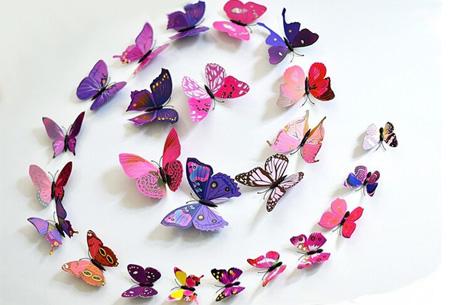 muurdecoratie vlinders nu gratis