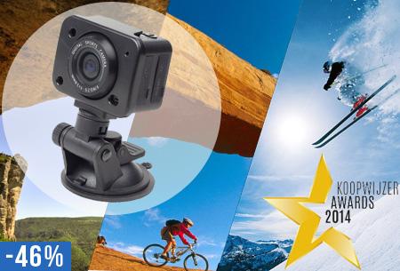 Gembird Full HD actiecamera nu slechts €69,95!