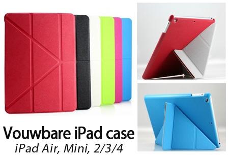 Vouwbare iPad case nu slechts €7,95!
